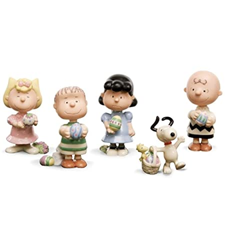 Lenox Peanuts It s the Easter Beagle Charlie Brown Set