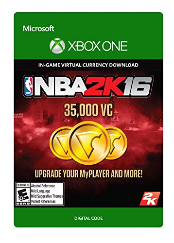 NBA 2K16 - 35,000 VC - Xbox One Digital Code