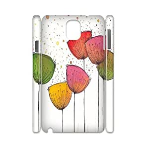YAYADE Phone Case Of Painting Flower For Samsung Galaxy Note 3 N9000
