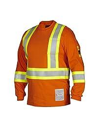 FR Flame & Arc Resistant Long Sleeve Tee Shirt HRC2