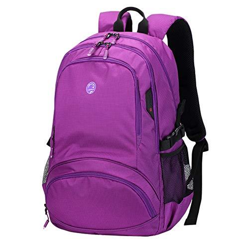 Para Jybag Viajes Con Campus Capacidad Chico Purple Mochila Hombre Niñas Laptop Estudiantes Hombres Impermeable Ocio Cremallera Gran Hombro Mujeres qrzqX