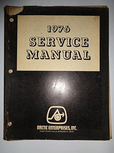 - Arctic Cat 1976 Jag Snowmobile Service Shop Repair Manual 1/76 original