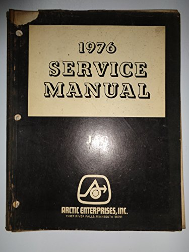Arctic Cat 1976 Jag Snowmobile Service Shop Repair Manual 1/76 original 1976 Arctic Cat Jag
