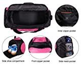 MIER Small Duffel Bag Sports Gym Bag for Women and Girls with Shoes  Compartment cb132cb1a784d
