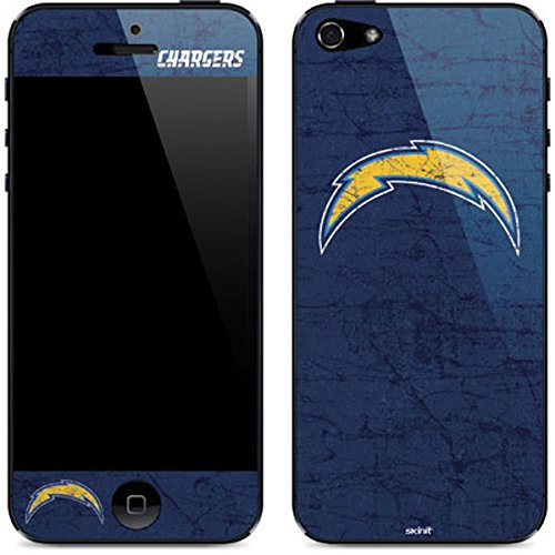 NFL San Diego Chargers Distressed Skin for iPhone 5/5S