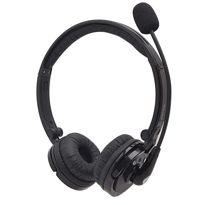 570d3bb9899 Bluetooth Headphones,YAMAY M20 Wireless Headphones with Microphone Hands  Free Noise Cancelling Wireless Bluetooth Headset