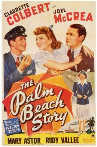 Amazon.com: The Palm Beach Story POSTER Movie (27 x 40 Inches - 69cm x  102cm) (1942): Posters & Prints