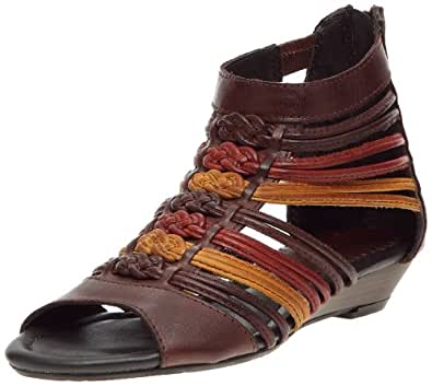 Pikolinos - Sandalias de cuero para mujer, color marrón, talla 37