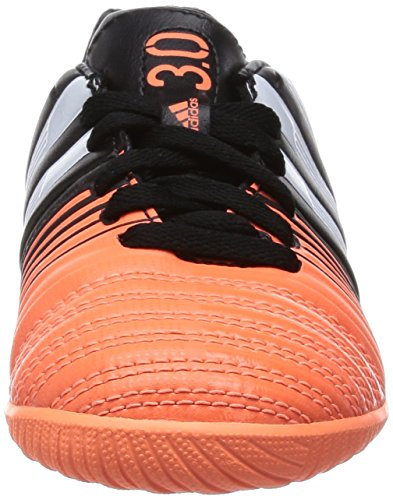 adidas Fussballschuhe Nitrocharge 3.0 IN J 31 core black/ftwr white/flash orange s15