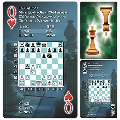 52 Chess Openings Playing Cards (English, Spanish and French Edition)