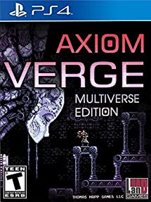 Image result for axiom verge ps4 box