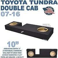 Toyota Tundra Double Cab 10 Dual Subwoofer Box