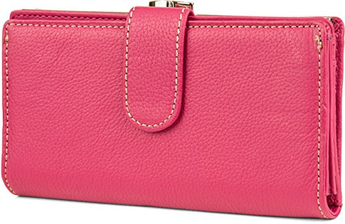 Mundi Rio Framed Clutch One Size Deep azalea pink