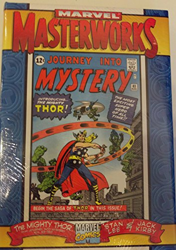 Marvel Masterworks: The Mighty Thor Volume 1 (Reprints Journey Into Mystery #83-100) (ComicCraft cover) (1999) Jack Kirby Cover Art