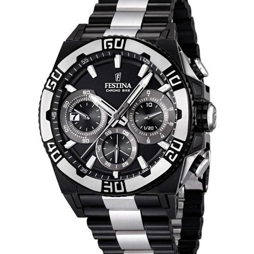 Festina - F16660 1 - Montre Homme - Quartz Chronographe - Chronomètre -  Bracelet Acier Inoxydable Multicolore  Festina  Amazon.fr  Montres 0f12f21ef9f2
