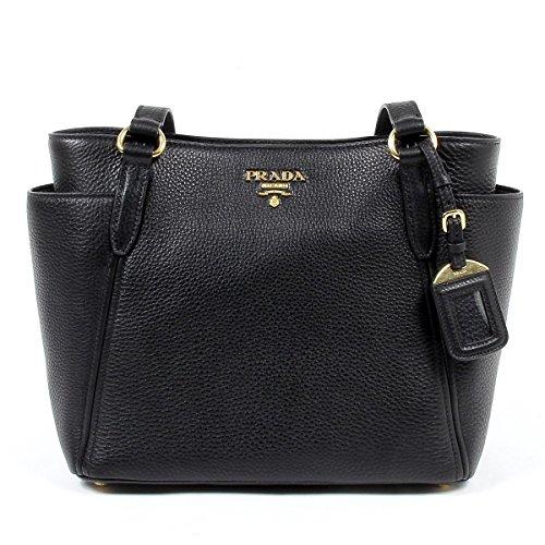 Prada Womens Handbag 1BG113 UWL F0002 NERO VIT DAINO