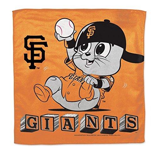 MLB Newborn Infant Baby Burp Cloths Many Teams To Choose (San Francisco Giants)