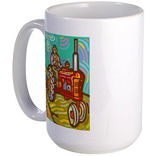 CafePress-Van-Gogh-Tractor-Coffee-Mug-Large-15-oz-White-Coffee-Cup