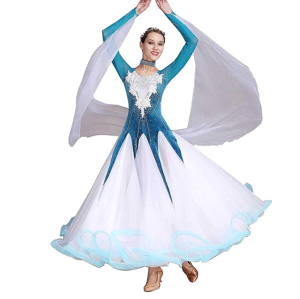 【高知インター店】 モダンダンススカート手作り水可溶性花 Blue Peacock、大きなスイングスカート女性 B07H2YBQCD B07H2YBQCD Peacock Blue XXL, 神奈川県小田原市:50b47986 --- ipgi.de