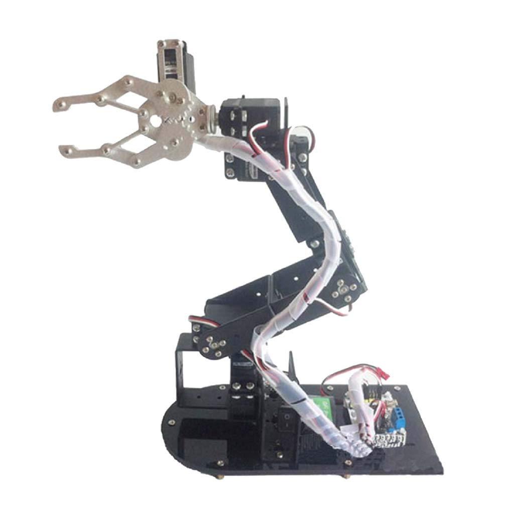 B Blesiya Kit Braccio Artiglio Meccanico Assemblato DIY Programmazione