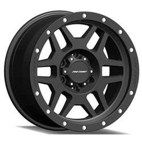 Pro Comp Wheels 5041-893650 Xtreme Alloys Series 5041 Satin Black Finish Size 18x9 Bolt Pattern 6x135 in. Back Space 5 in. Offset 0 Max Load 2200 Xtreme Alloys Series 5041 Satin Black Finish ()