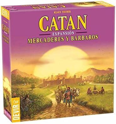Devir Iberia 934306 Expansión Catán: Mercaderes y Bárbaros (93430): Amazon.es: Juguetes y juegos