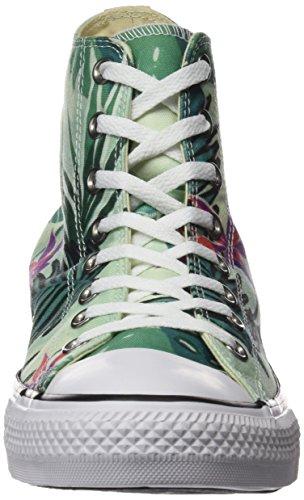 Alto Fiberglass Donna White Converse a Sneaker Hi Menta Collo Multicolore Ctas WqASA1FX