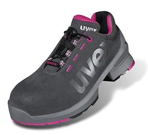 Uvex Damen Sicherheits-Halbschuh uvex 1 S2, SRC, Weite 10 Grau