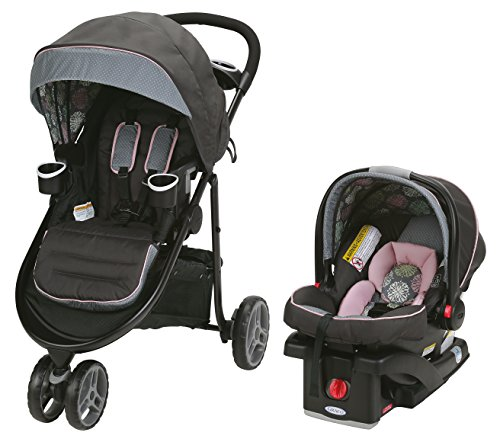3 Wheel Baby Stroller Travel System - 4