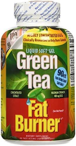 Green Tea Fat Burner - 90 flüssige weiche Gele