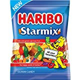 Haribo Starmix Gummi Candy, 4 oz. Bag (Pack of 12)