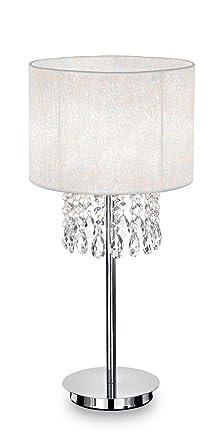 Ideal Lux Opera TL1 E27 Blanco lámpara de mesa - Lámparas de ...