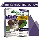 Adventure Plus Triple Flea Protection for Cats, 9 lbs and Over, Cat Flea Treatment