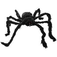 Cadılar Bayramı Tüylü Örümcek Dekor Süs 50 cm