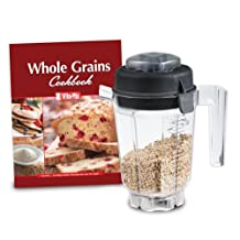Vitamix 32-Ounce Container with Dry Blade, 2 Part Lid and Book