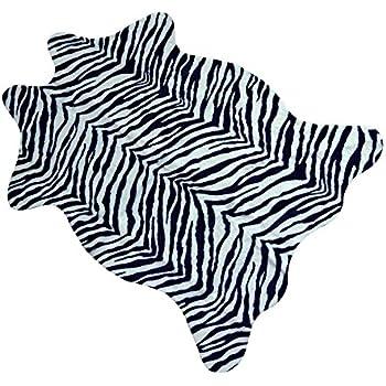 Amazon Com Dalyn Rugs Fv6bk3x5 735 3x5 Pink Zebra Kids