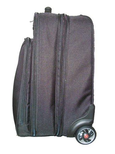 Wenger WA-7020-02 Vertical Wheeled 40,1 cm (16 Zoll) Notebooktasche, schwarz