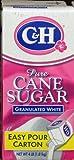 no bake ch - C&H Pure Cane SUGAR in EASY POUR CARTON 4lb. (2 Cartons)
