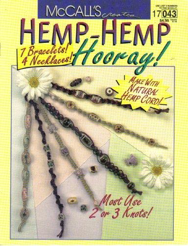 Patterns Necklace Hemp - Hemp- Hemp Hooray!: 7 Bracelets, 4 Necklaces (McCall's Creates, 17043)