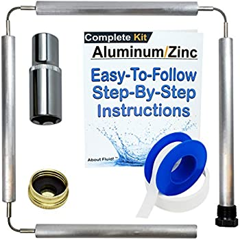About Fluid Aluminum/Zinc Flexible Anode Rod Complete Kit For Water Heaters | 44