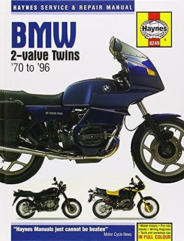 haynes bmw twins motorcycles owners workshop manual 1970 1996 rh amazon com bmw motorcycle service manual bmw motorcycle service manual