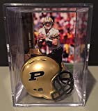 Purdue Boilermakers NCAA Helmet Shadowbox w/ Drew Brees card