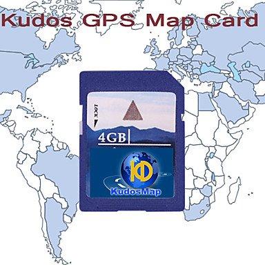 Tarjeta de mapas GPS KUDOS, con 4 GB tarjeta SD: Amazon.es ...