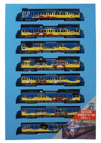 マイクロエース Nゲージ 西武3000系 銀河鉄道999デザイン電車 8両セット A7694 鉄道模型 電車