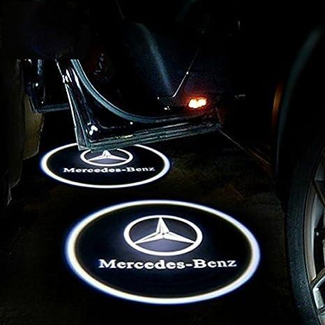 Xotic Tech Mercedes Benz CLA CLS CLK LED para puerta de coche Logo ...