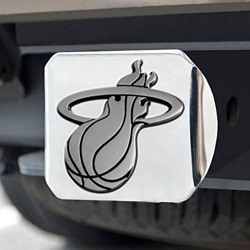 FANMATS NBA Miami Heat Chrome Hitch Cover -