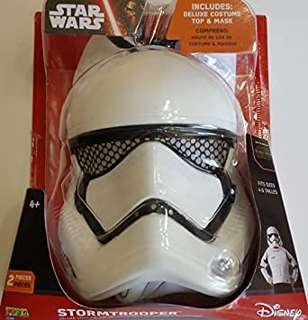 Star Wars Stormtrooper Deluxe Disfraz Top & Mask by Star ...