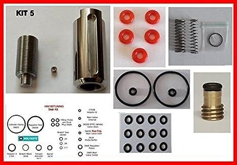 Prova di pressione regolatore aggiornato porta SEAL KIT PER WEIHRAUCH HW100//hw101