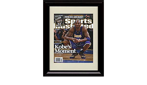 Amazon.com : Framed Kobe Bryant Los Angeles Lakers Sports ...