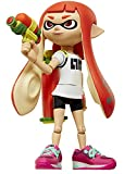 World of Nintendo Inkling Girl with Blaster Action Figure, 4""